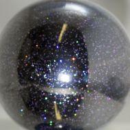 Black Violet Holographic 0.015 Metal Flake