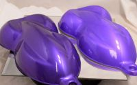 Magic Violet Pearl Is a Multi Color Series Mica Pigment which is sized at 10-60 UM.