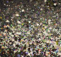 Magic Silver Chunky Metal Flake Glitter
