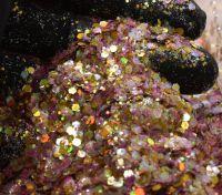 Tossed Mango Chunky Metal Flake Glitter
