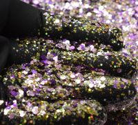 Izzy Stardust Chunky Metal Flake Glitter