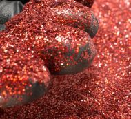 Bright Red Holographic 0.002 .002 Micro Metal Flake Glitter